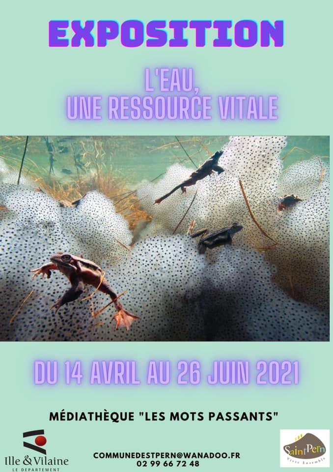 Exposition : L'EAU, UNE RESSOURCE VITALE