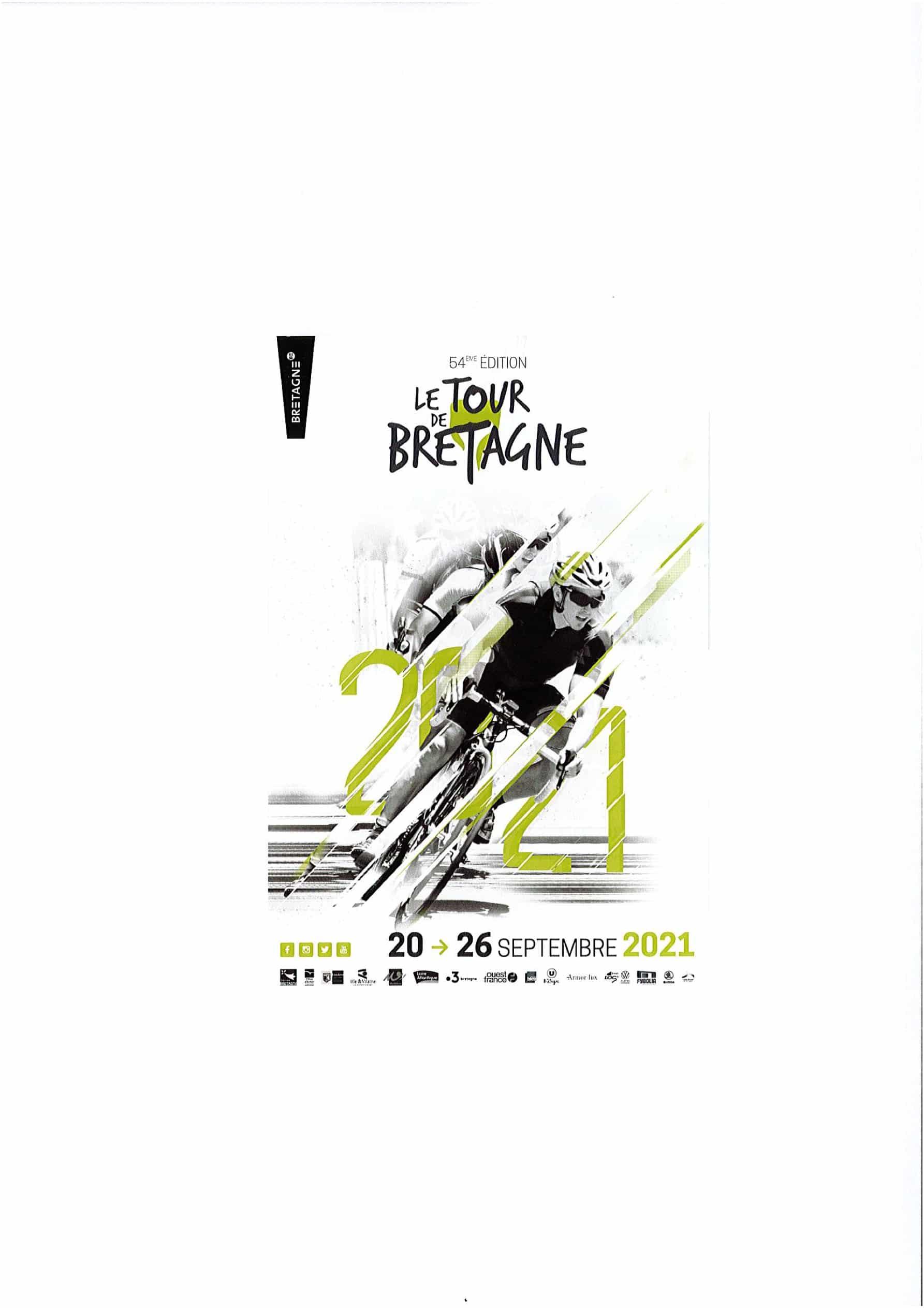LE TOUR DE BRETAGNE DU 20 AU 26 SEPTEMBRE 2021