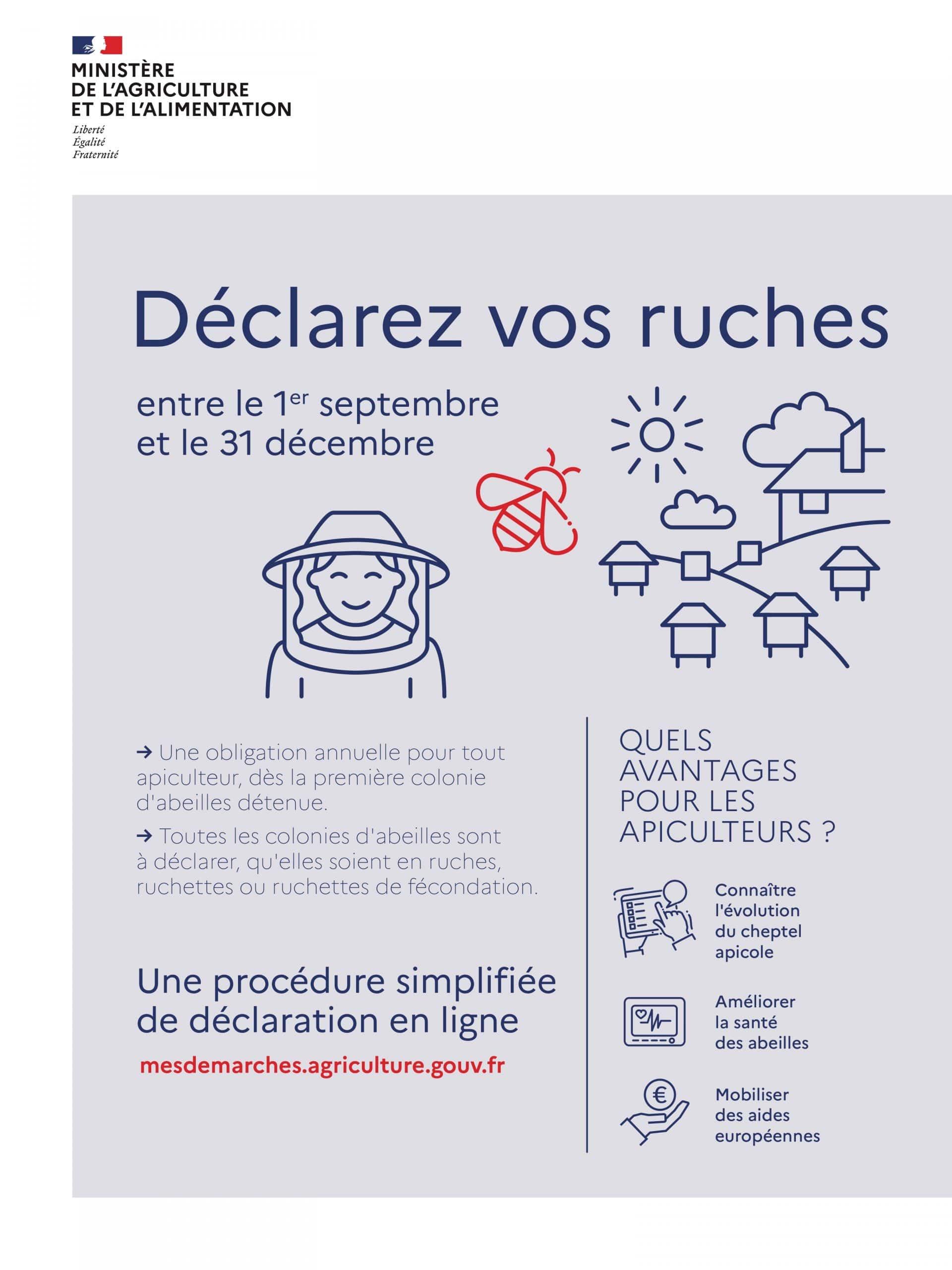 DECLARATION DES RUCHERS