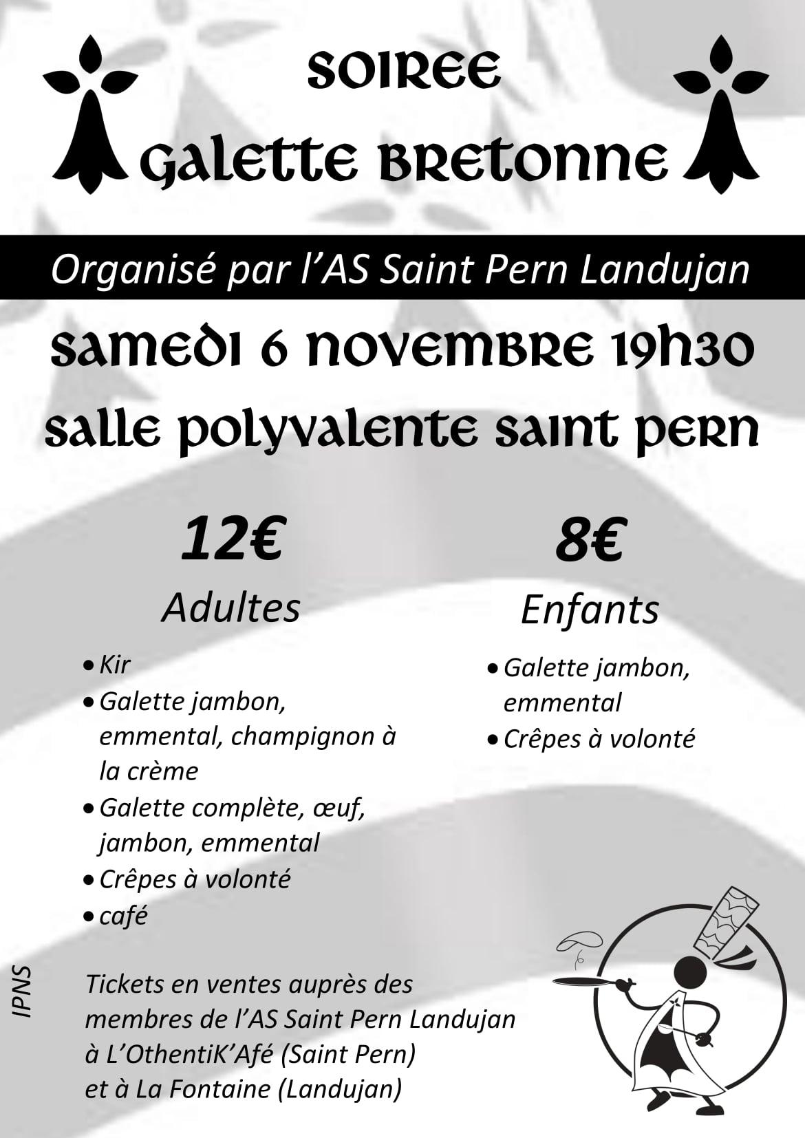 SOIREE GALETTE BRETONNE